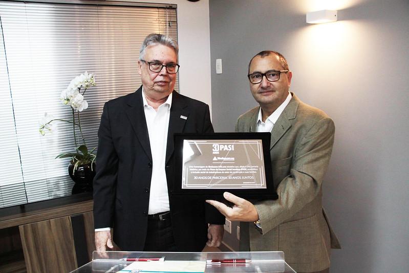 Dr. Geraldo Jardim Linhares Junior e Alaor Silva Junior