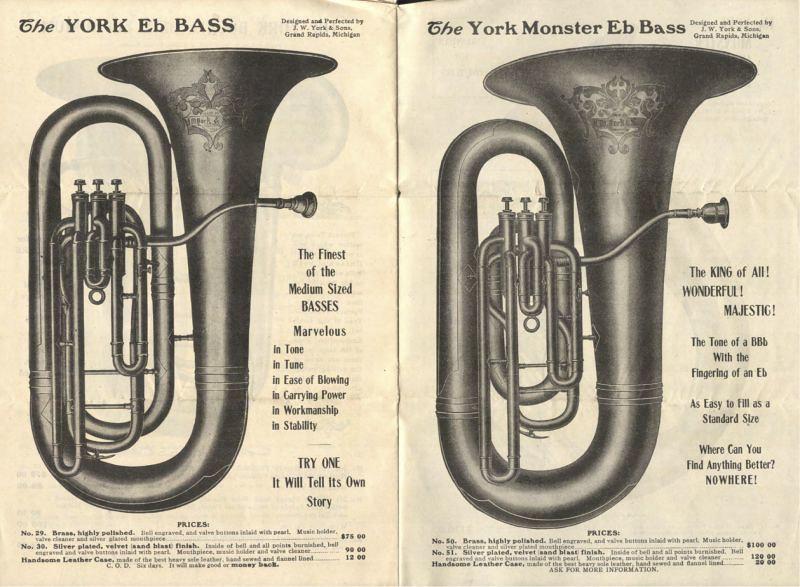 Catálogo York Tuba
