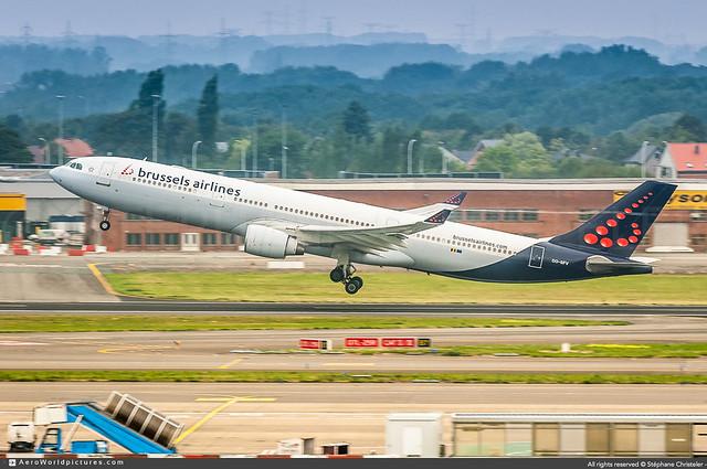 BRU•2018   #Brussels.Airlines #SN #Airbus #A330 #OO-SFV #awp