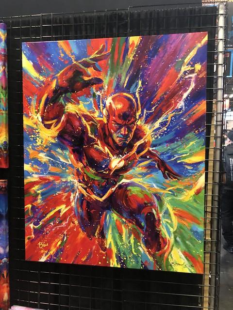 Super Hero Fine: Art The Flash