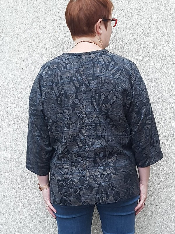 Papercut Patterns Pinnacle top