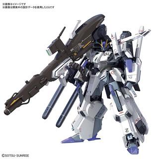 【更新官圖&販售資訊】MG 1/100《鋼彈前哨戰》FAZZ(ファッツ)Ver.Ka 試作品公開!