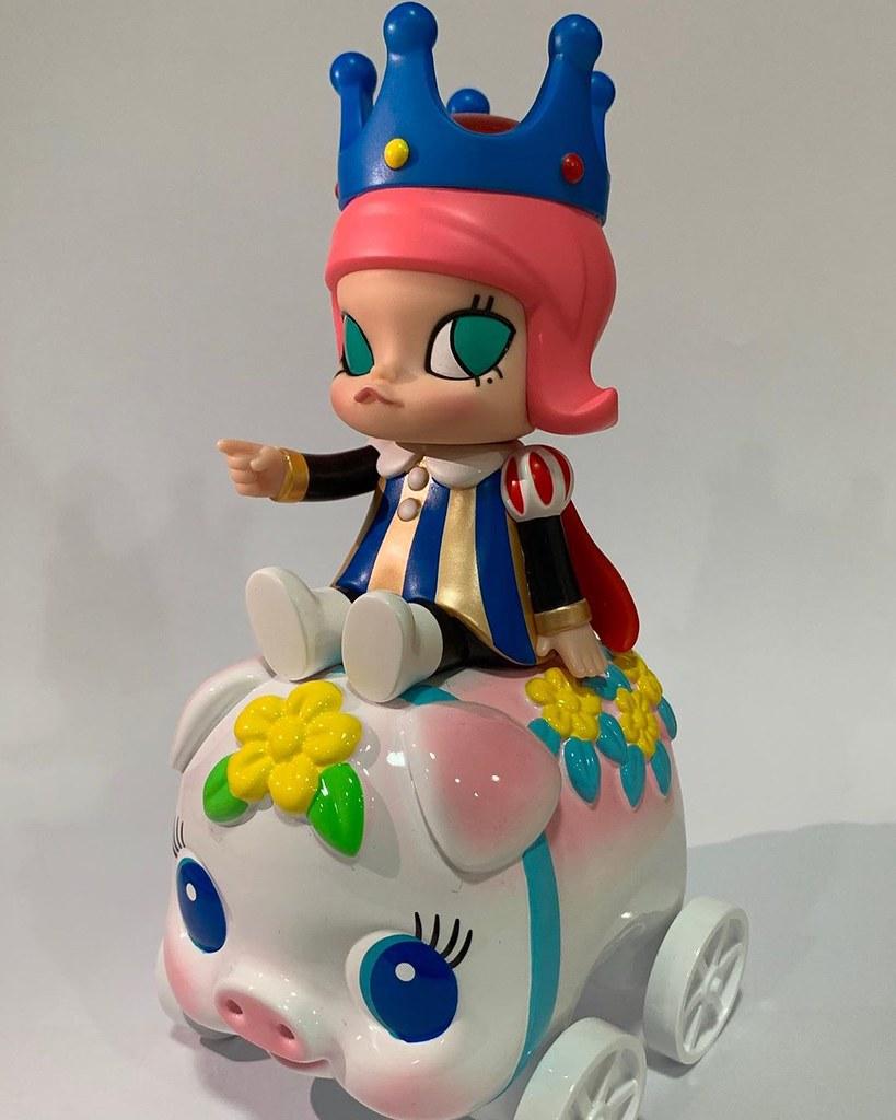 【TTF2019】騎著小豬撲滿的小公主Molly要來巡遊台灣啦!Kennyswork 帶著三款全新Molly登場A70,71展位