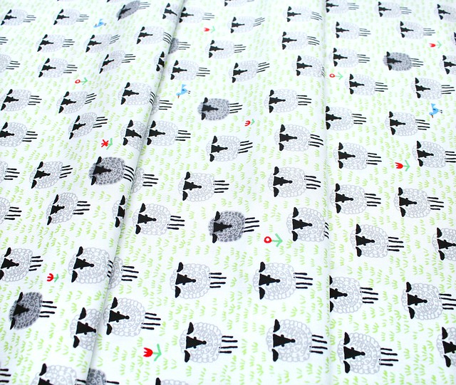Cloud9 Fabrics Ed Emberley Favorites 206367 Sheep
