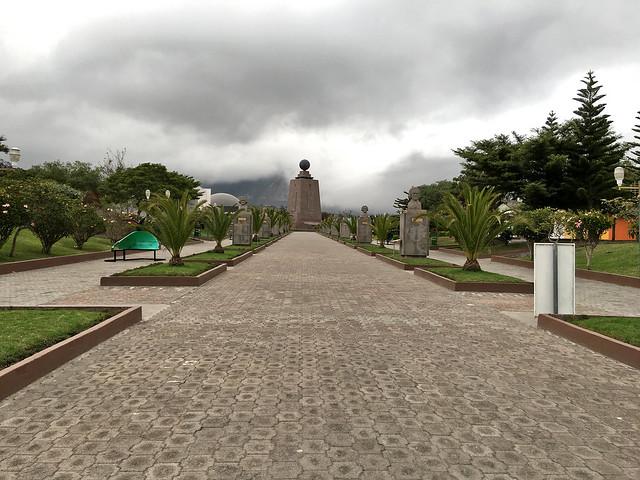 Mitad del Mundo monument. Quito, Ecuador.