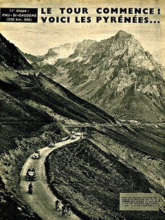 1950 TDF Into the Pyrenees