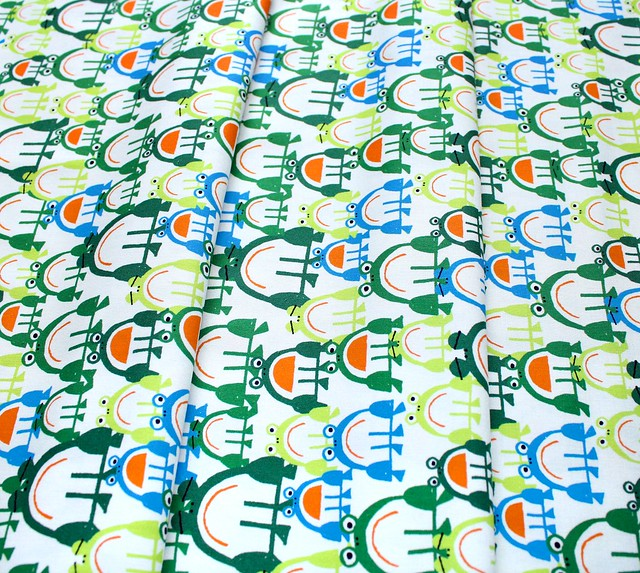 Cloud9 Fabrics Ed Emberley Favorites 206355 Frogs