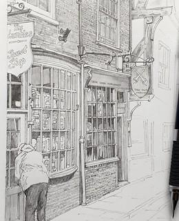 Shambles, York (WiP 4): Shopping
