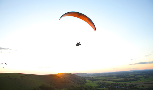 Paragliding in Sussex: