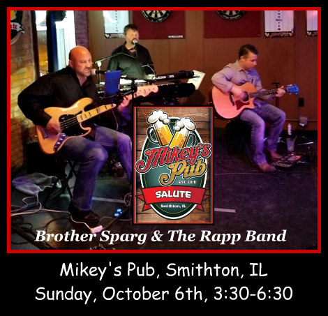 Brother Sparg & The Rapp Band 10-6-19