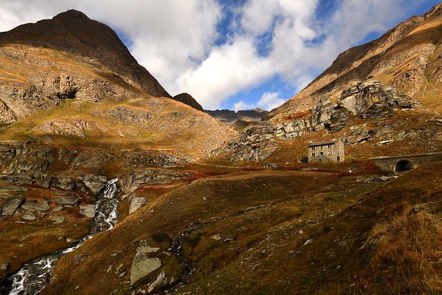 France - les Alpes - route de l'Iseran