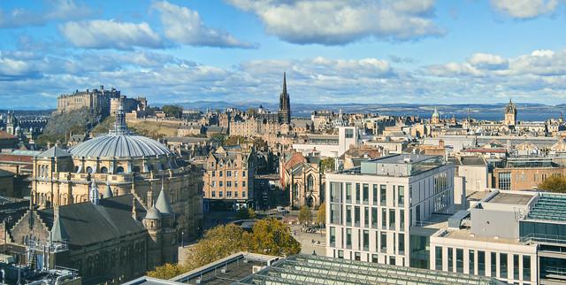 Edinburgh - From Atop Appleton Tower
