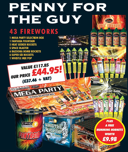 Penny For The Guy Family Fireworks Garden Pack #EpicFireworks