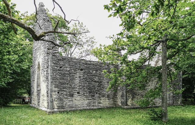 Elinghems ödekyrka, Gotland