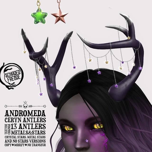 andromeda ceryn antlers