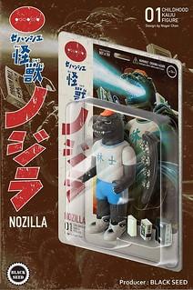 【TTF2019】極夢幻逸品實體化!Goodzila 好吉拉 x Black Seed Toys 「セハンシエ怪獣|ノジラ」 A80展位參戰確認!
