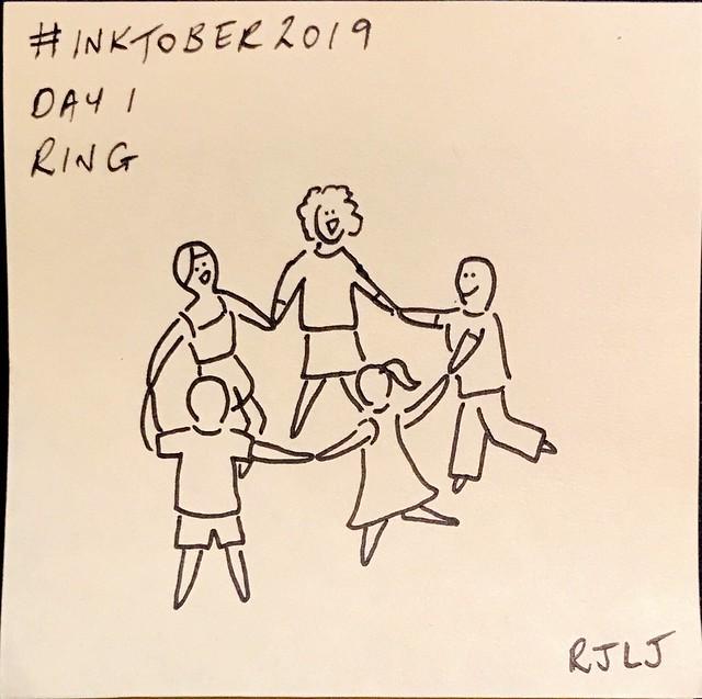 Ring #Inktober2019 Day 1