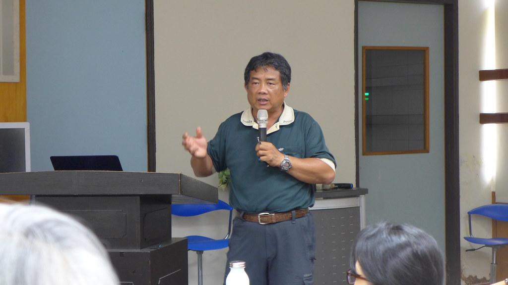 台南社區大學環境行動小組研究員吳仁邦認為,新北市設計的水環境工程不夠周全。孫文臨攝