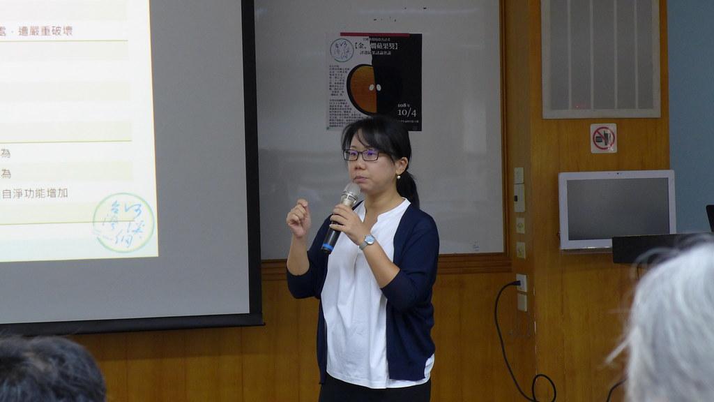 台灣河溪網的召集人廖桂賢說,前瞻基礎建設計畫的經費來自舉債,必須要留下更好的環境。孫文臨攝