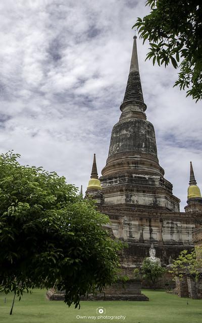 Exploring Wat Yai temple