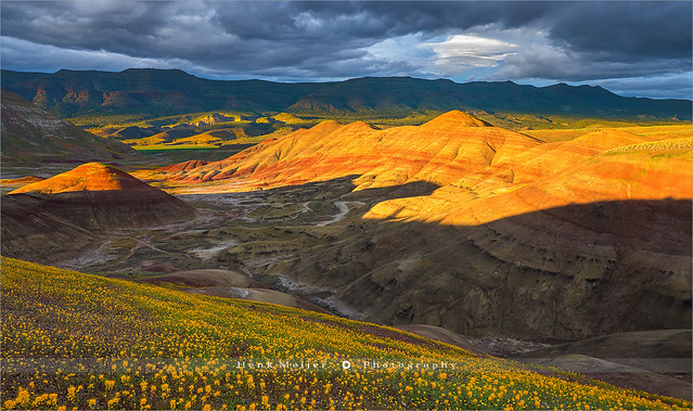 Painted Hills, John Day Fossil Beds - Oregon
