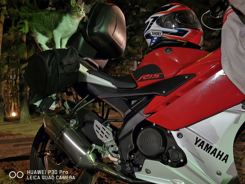 YZF-R15でツーリング&キャンプ