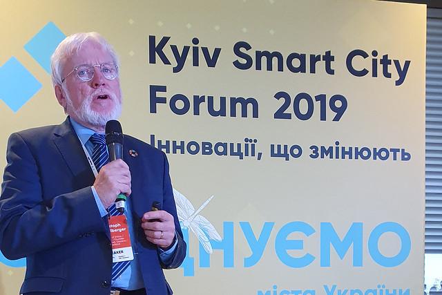 Kiev Smart City Forum, Kiev, Ukraine, 1 October 2019