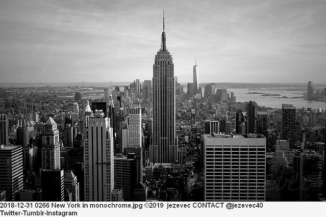 2018-12-31 0266 New York in monochrome