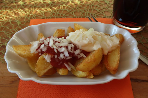Friet Speciaal (meine 1. Portion)