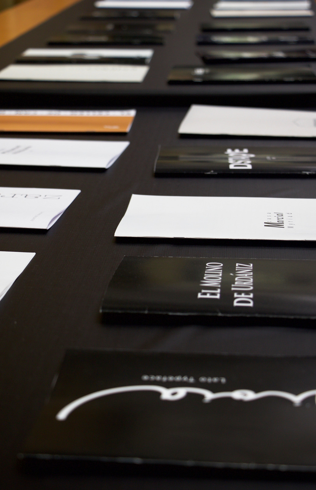 Typography, con Claude Marzotto. 1º Grado en Diseño. 2019-20