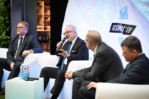 """Valsts prezidents Egils Levits piedalās skolēnu un studentu inovāciju konferences """"Icebreakers '19"""" atklāšanā"""