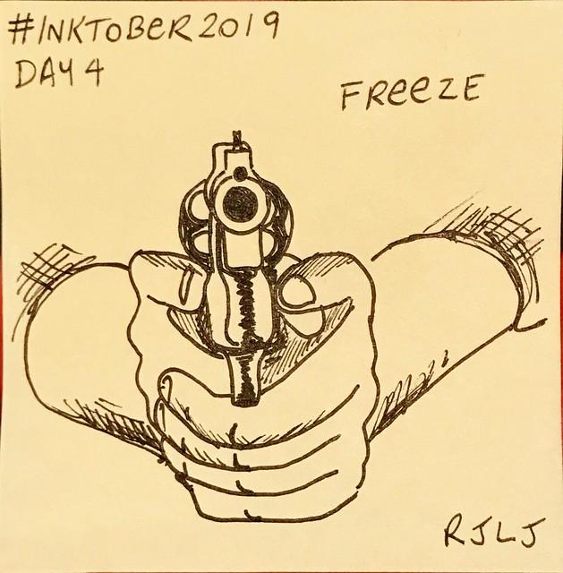 Freeze #Inktober2019 Day 4