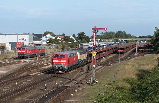 Verspätete Ankunft in Westerland