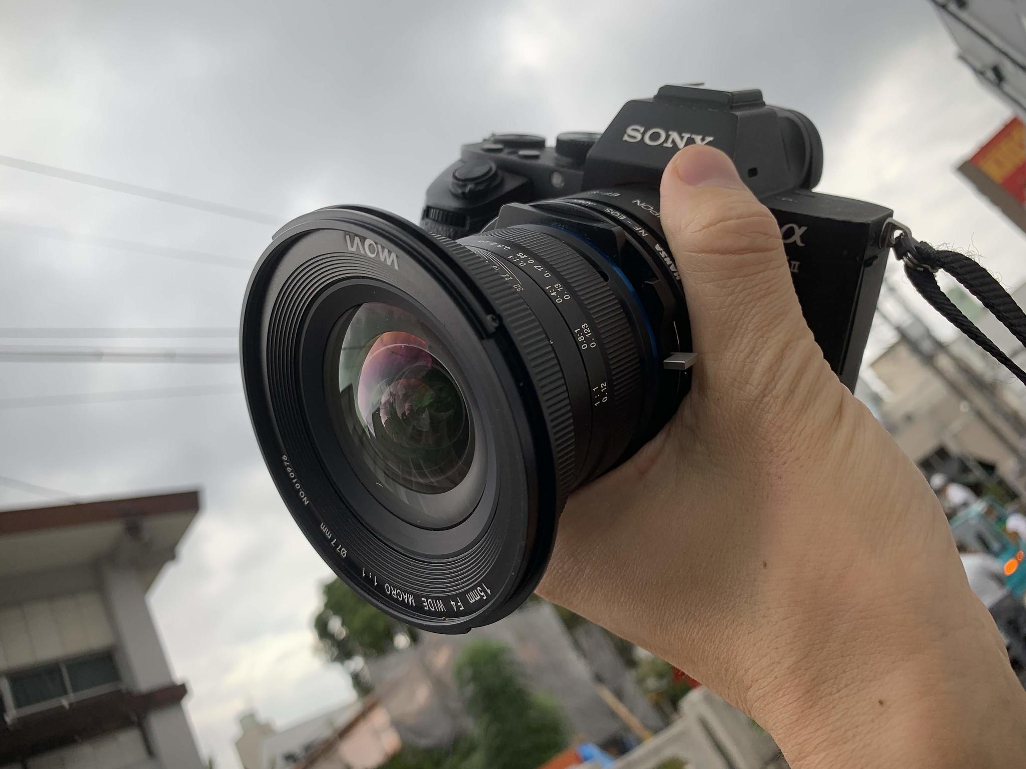 LAOWA 15mm wide angle macro