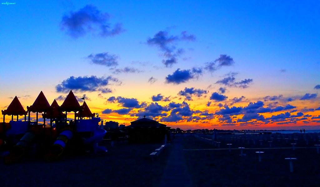 tramonto a san giuliano