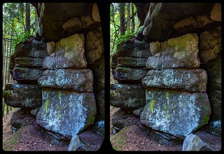 Too white 3-D / CrossView / Stereoscopy