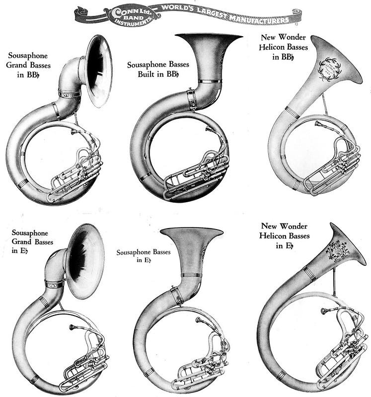 sousaphone conn 1924