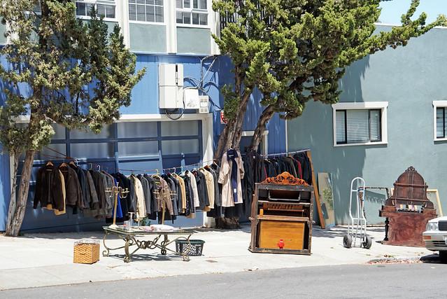 Strolling around Mission District, San Francisco, CA