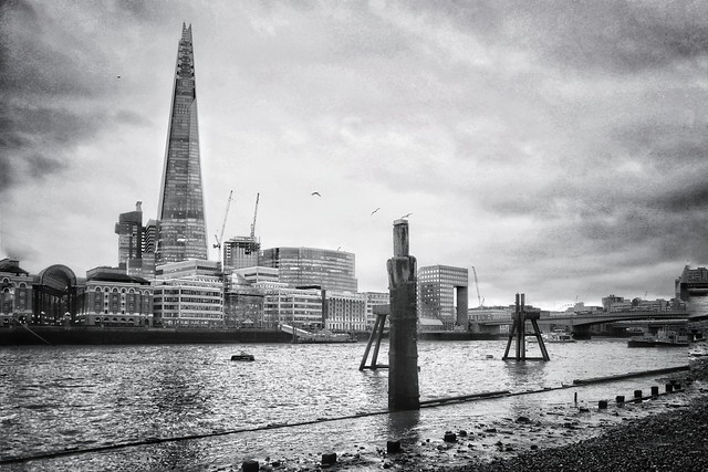 A moody day in London