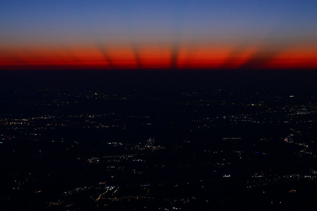Dawn's Rays Over Atlanta - September 2019