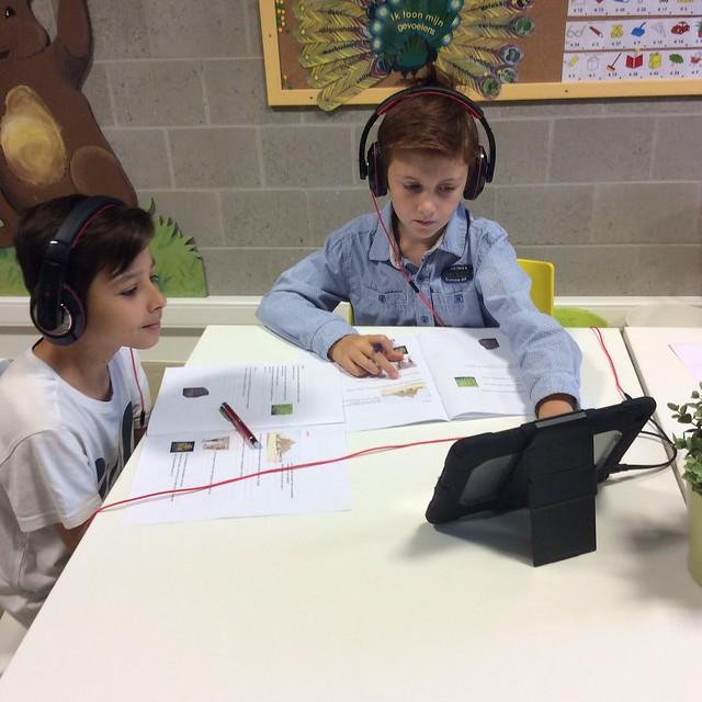 5de leerjaar - Aan de slag met de iPad