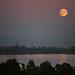 Mondaufgang über Konstanz · Moonrise over Konstanz,  Lake Constance