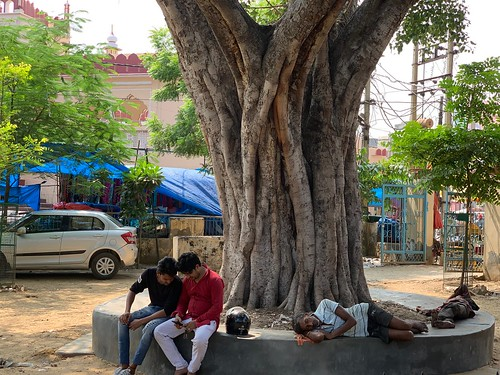 City landmark - Peepal's People, Outside Jama Masjid, Gurgaon