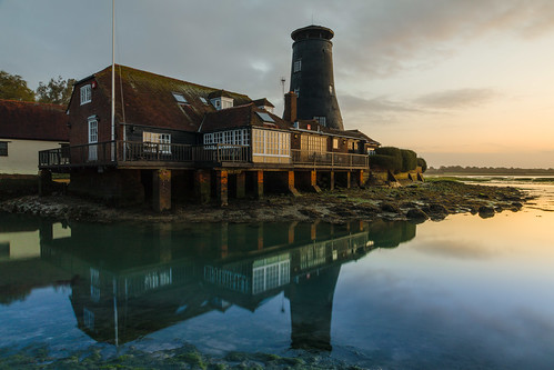 langstoneoldmill langstone emsworthharbour harbours reflections wetreflection sunrise