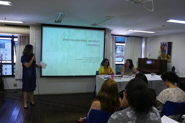 Mesa Redonda: Diálogos sobre Direitos Humanos, educação e migração