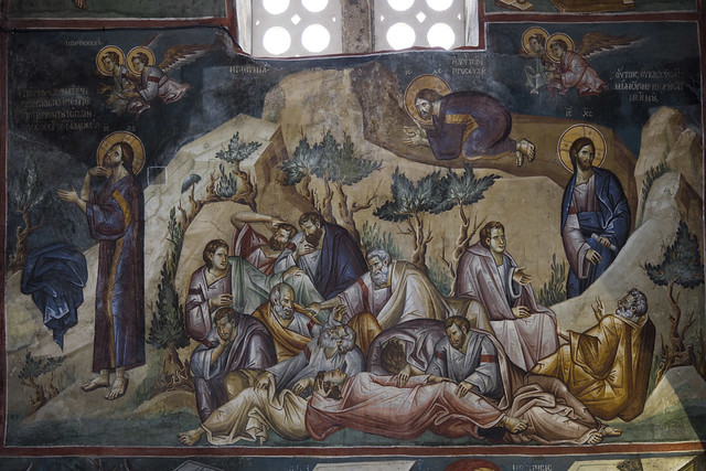 Prayer of Jesus Christ in the Garden of Gethsemane