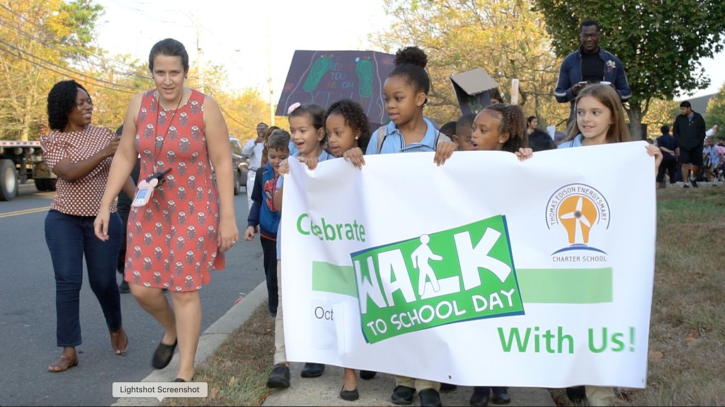 TEECS Walks to School!
