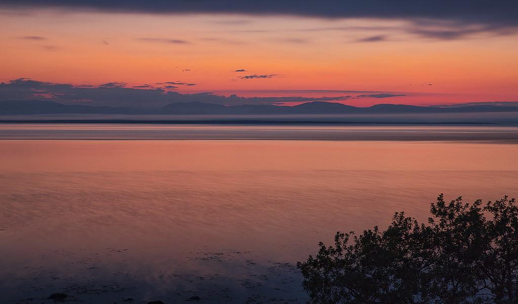 Crépuscule rouge - Red dusk