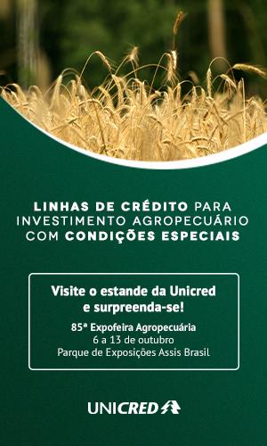 Visite o estande da Unicred na 85ª Expofeira de São Gabriel!