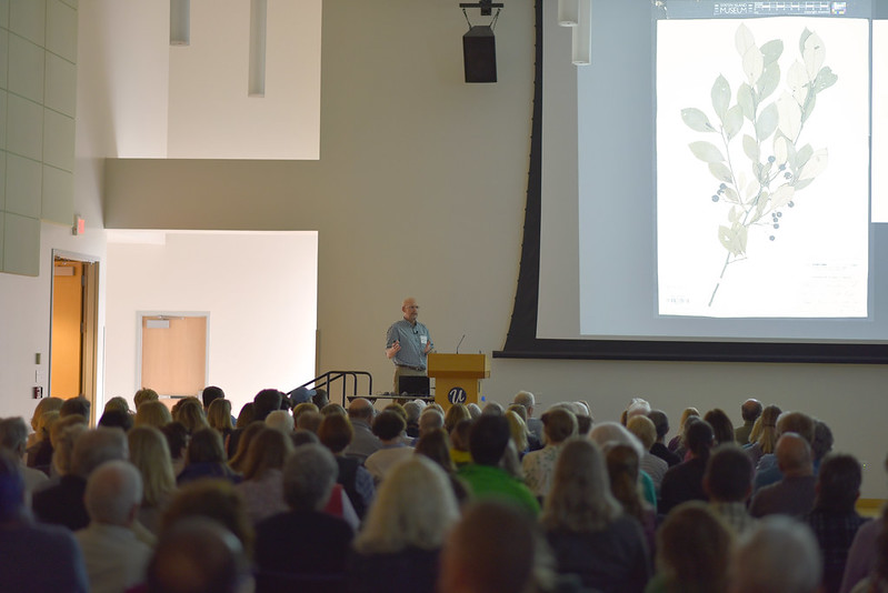 Professor Mark Brand at the 2019 UConn Native Plants & Pollinators Conference